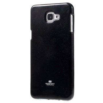 Samsung Galaxy A9 (2016) Mercury Goospery TPU Kotelo Musta