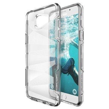 Samsung Galaxy A9 (2016) VRS Design Shine Guard -Sarjan Hybridikotelo Kirkas