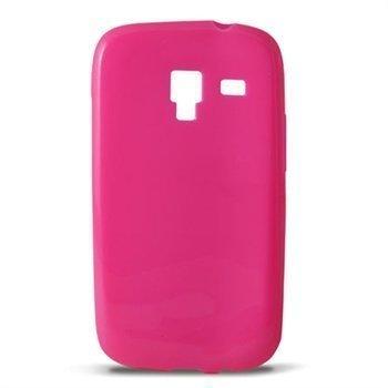 Samsung Galaxy Ace 2 8160 Ksix TPU-Suojakotelo Pinkki