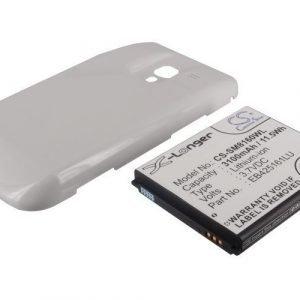 Samsung Galaxy Ace 2 GT-I8160 GT-I8160P yhteensopiva tehoakku laajennetulla takakannella 3100 mAh