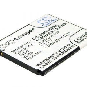 Samsung Galaxy Ace 2 GT-I8160 Galaxy Trend GT-S7560 Trend Plus GT-S7580 yhteensopiva akku 1500 mAh NFC Tuki