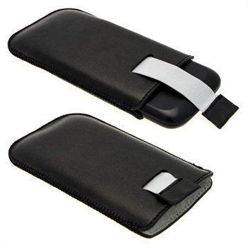Samsung Galaxy Ace 2 I8160 iGadgitz Nahkakotelo Musta