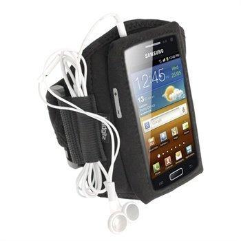 Samsung Galaxy Ace 2 I8160 iGadgitz Neopreeni Käsivarsikotelo Musta
