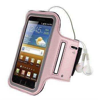 Samsung Galaxy Ace 2 I8160 iGadgitz Neopreeni Käsivarsikotelo Pinkki