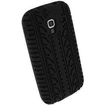 Samsung Galaxy Ace 2 I8160 iGadgitz Silikonikotelo Musta
