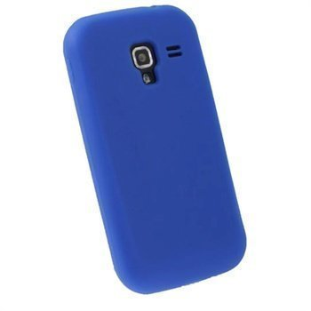 Samsung Galaxy Ace 2 I8160 iGadgitz Silikonikotelo Sininen