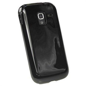 Samsung Galaxy Ace 2 I8160 iGadgitz TPU-Suojakotelo Musta