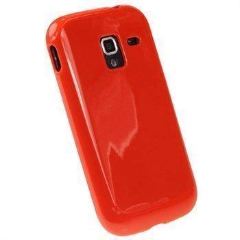 Samsung Galaxy Ace 2 I8160 iGadgitz TPU-Suojakotelo Punainen