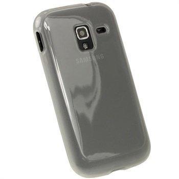 Samsung Galaxy Ace 2 I8160 iGadgitz TPU-Suojakotelo Selkeä