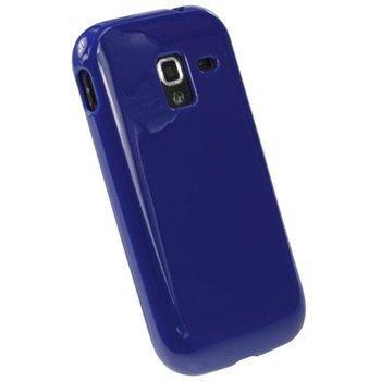 Samsung Galaxy Ace 2 I8160 iGadgitz TPU-Suojakotelo Sininen