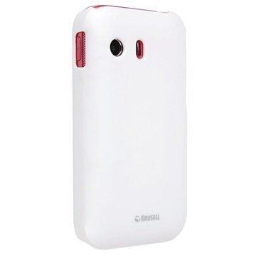 Samsung Galaxy Ace S5830 Krusell ColorCover Kotelo Valkoinen