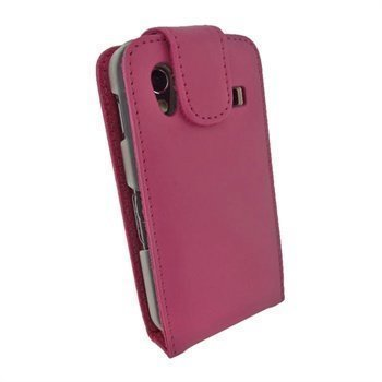 Samsung Galaxy Ace S5830 iGadgitz Leather Flip Case Pink