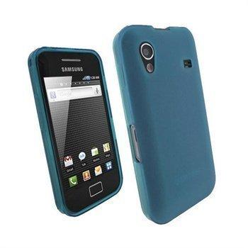 Samsung Galaxy Ace S5830 iGadgitz TPU Kotelo Sininen