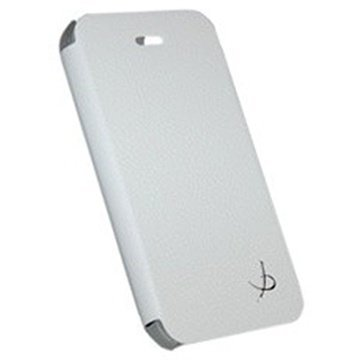 Samsung Galaxy Alpha Dolce Vita Book Line Kotelo Valkoinen
