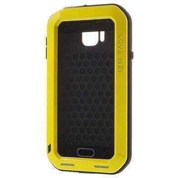Samsung Galaxy Alpha Love Mei Powerful Hybrid Suojakuori Keltainen