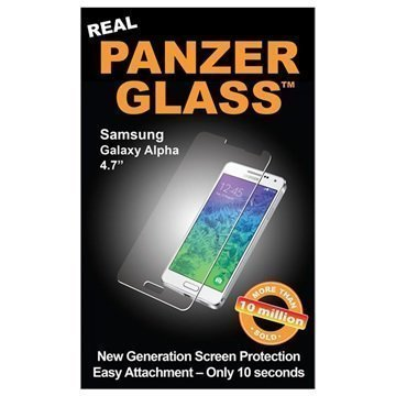 Samsung Galaxy Alpha PanzerGlass Screen Protector