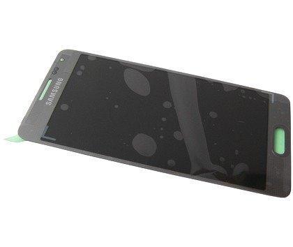 Samsung Galaxy Alpha SM-G850F LCD-näyttö + Kosketuspaneeli Hopea