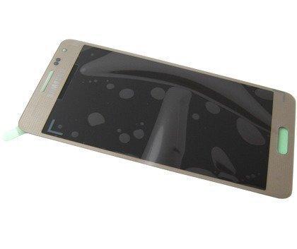 Samsung Galaxy Alpha SM-G850F LCD-näyttö + Kosketuspaneeli Kultainen