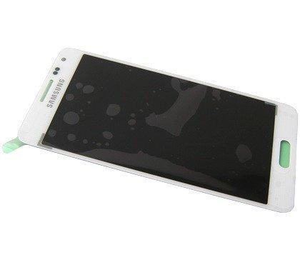 Samsung Galaxy Alpha SM-G850F LCD-näyttö + Kosketuspaneeli Valkoinen