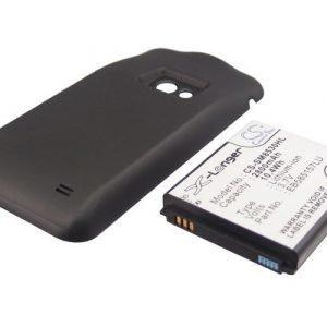 Samsung Galaxy Beam GT-I8530 yhteensopiva tehoakku laajennetulla takakannella 2800 mAh