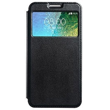 Samsung Galaxy E7 Kalaideng Sun Series View Läppäkotelo Musta
