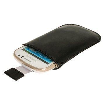 Samsung Galaxy Fame S6810 iGadgitz Leather Case Black