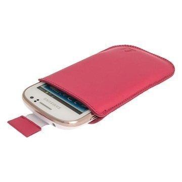 Samsung Galaxy Fame S6810 iGadgitz Leather Case Pink