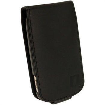 Samsung Galaxy Fame S6810 iGadgitz Nahkainen Läppäkotelo Musta