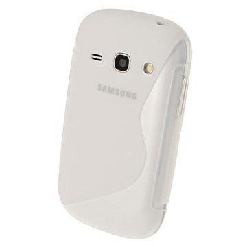 Samsung Galaxy Fame S6810 iGadgitz S Line Crystal TPU-Kotelo Kirkas