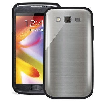 Samsung Galaxy Grand I9082 Puro Clear Kotelo Musta
