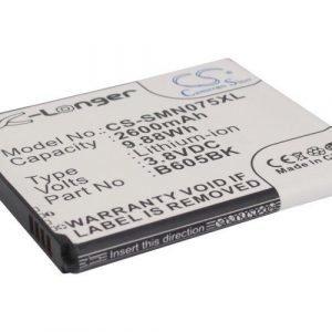 Samsung Galaxy J akku 2600 mAh