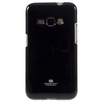 Samsung Galaxy J1 (2016) Mercury Goospery TPU Kotelo Musta
