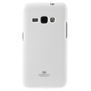 Samsung Galaxy J1 (2016) Mercury Goospery TPU Kotelo Valkoinen