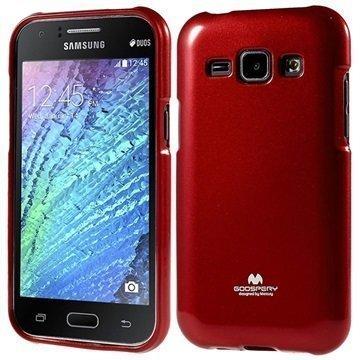 Samsung Galaxy J1 Galaxy J1 4G Mercury Goospery TPU Suojakuori Punainen
