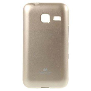 Samsung Galaxy J1 Nxt Mercury Goospery Kotelo Kulta