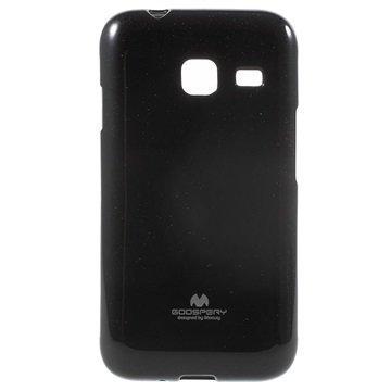 Samsung Galaxy J1 Nxt Mercury Goospery Kotelo Musta