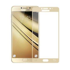 Samsung Galaxy J3 2016 Panssarilasi 2.5d Full Cover Kulta