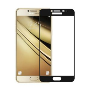 Samsung Galaxy J3 2016 Panssarilasi 2.5d Full Cover Musta