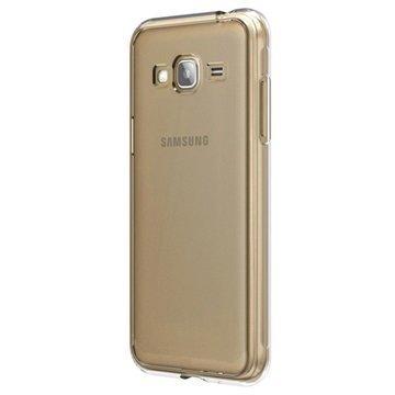 Samsung Galaxy J3 (2016) Skech Crystal Suojakuori Läpinäkyvä