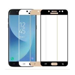 Samsung Galaxy J3 2017 Panssarilasi 2.5d Full Cover Valkoinen