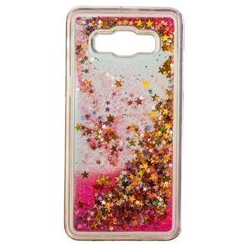 Samsung Galaxy J5 (2016) Urban Iphoria Glamour Case Gold / Pink