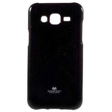 Samsung Galaxy J5 Mercury Goospery TPU Kotelo Musta