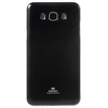 Samsung Galaxy J7 (2016) Mercury Goospery TPU Kotelo Musta