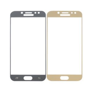Samsung Galaxy J7 2017 Panssarilasi 2.5d Full Cover Kulta