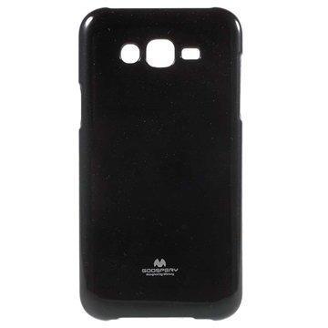 Samsung Galaxy J7 Mercury Goospery TPU Kotelo Musta