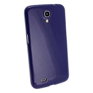 Samsung Galaxy Mega 6.3 I9200 iGadgitz Crystal TPU-Kotelo Tummansininen