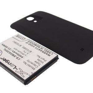 Samsung Galaxy Mega GT-I9200 ja GT-I9205 tehoakku erillisellä takakannella 6400 mAh