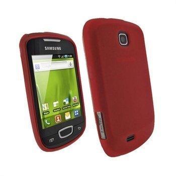 Samsung Galaxy Mini S5570 iGadgitz TPU-kotelo Punainen