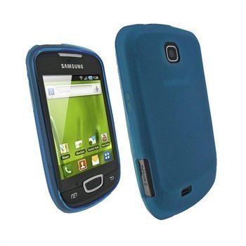 Samsung Galaxy Mini S5570 iGadgitz TPU-kotelo Sininen
