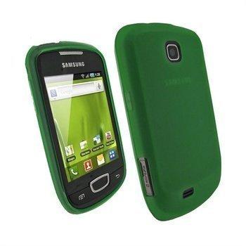 Samsung Galaxy Mini S5570 iGadgitz TPU-kotelo Vihreä